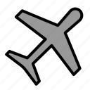 areoplane, business, plane, trasport, travel icon