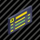 air, airport, board, destination, flight, isometric, travel
