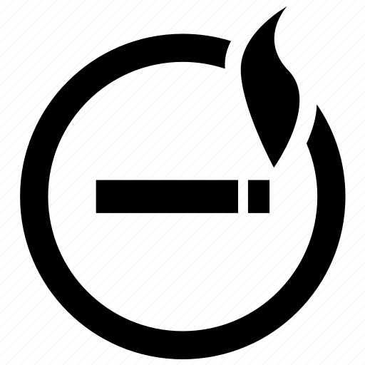 area, cigarette, location, sign, smoke, smoking, zone icon