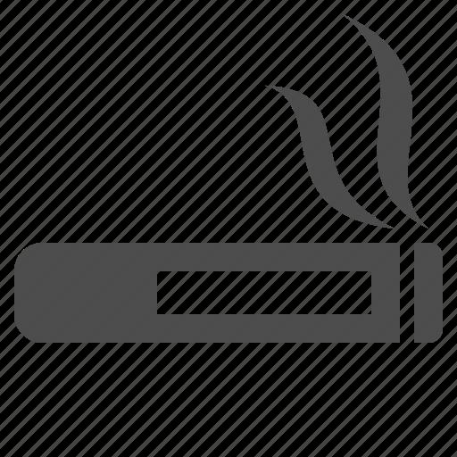 cigar, cigarette, sign, smoking icon