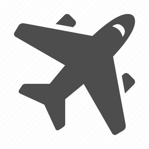 airplane, airport, plane, transportation, travel icon