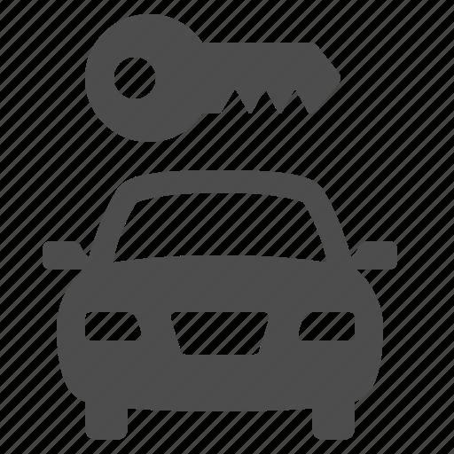 car, key, locked, rent, rent-a-car icon