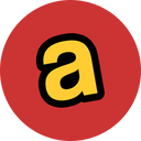 airwalk design, round, social icon
