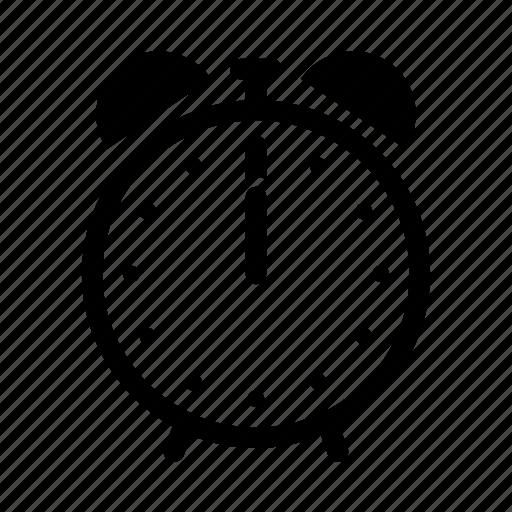 alarm, bell, clock, retro, time, wake, watch icon