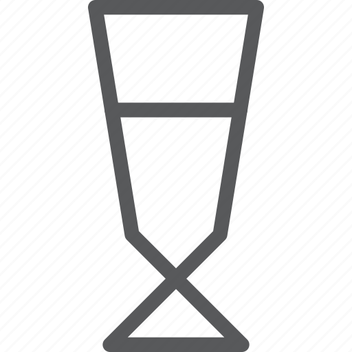 alcohol, drink, fluid, glass, hydrate, plain, wine icon