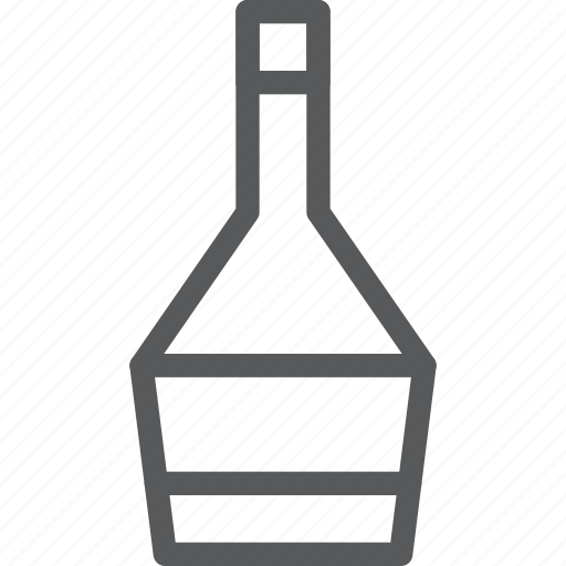 alcohol, bottle, drink, fluid, red, wine icon