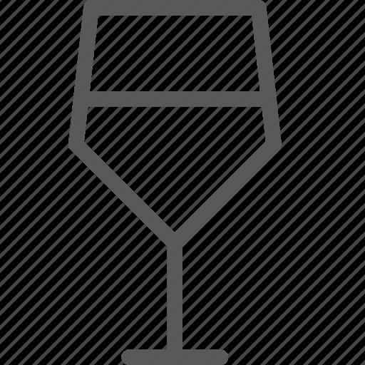 alcohol, beverage, drink, fluid, glass, serve, wine icon