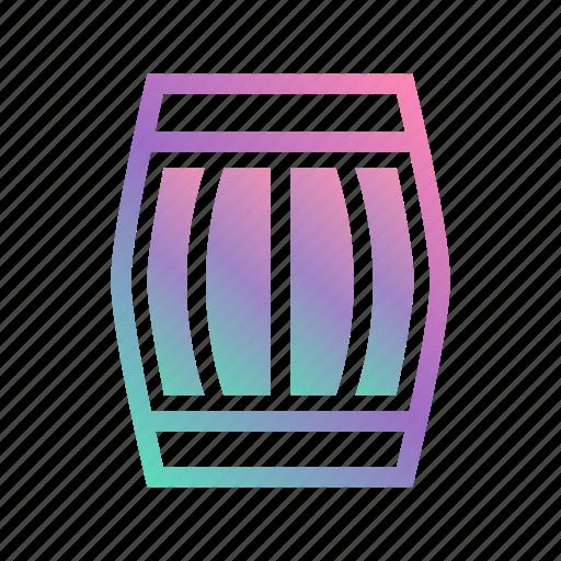 barrel, barrel alcohol, beer, beverage, distillery, wine, winery icon
