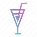alcohol, cocktail, drink, glass, margarita, martini, party icon