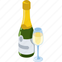 alcohol, bottle, champagne, drink, wine