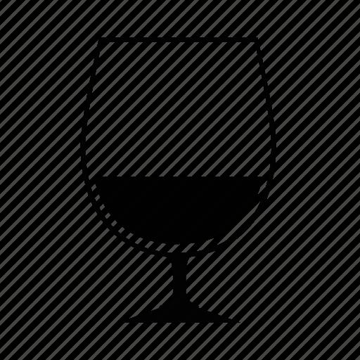 bourbon, brandy, cognac, glass, liqeueur, liquor, snifter icon