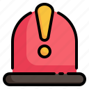 siren, light, alert, warning, alarm, notification icon