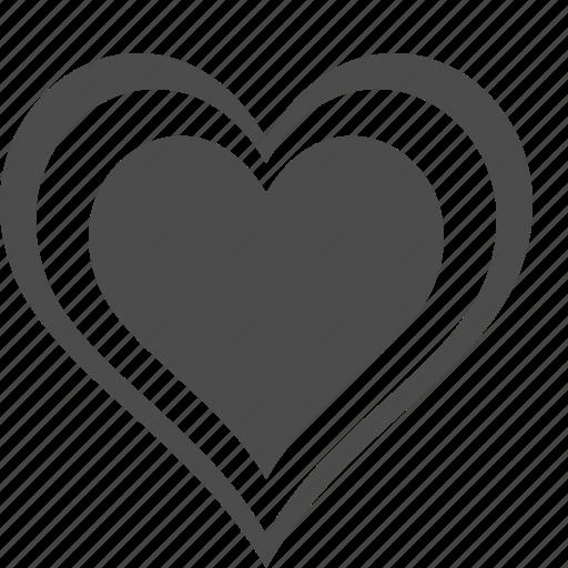bookmark, favorites, heart, like, star icon