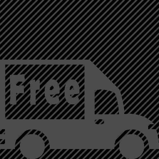 buy, cart, ecommerce, free shipping, shopping icon