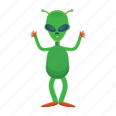 alien, creature, et, universe icon