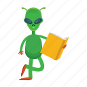 alien, creature, et, space icon