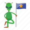 alien, cartoon, creature, et, space icon