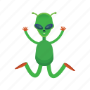 alien, cartoon, et, universe icon