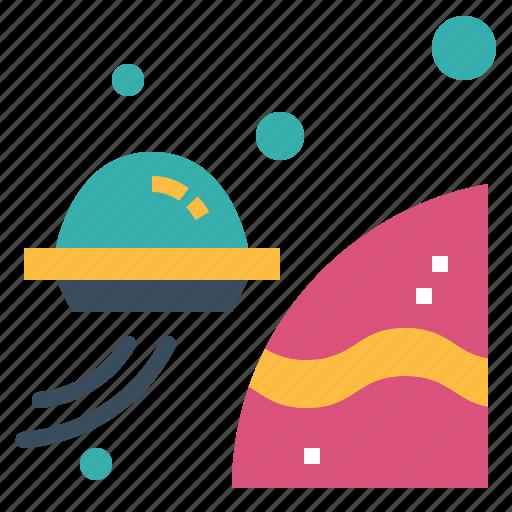 alien, fi, outer, sci, space, ufo icon