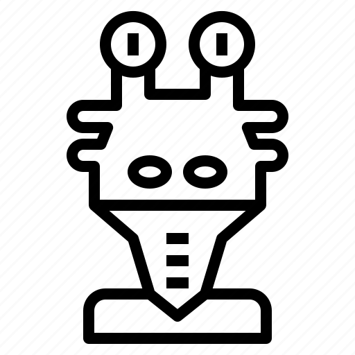 Alien, jajabink, monster, outer, space icon - Download on Iconfinder