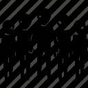 alien, group, invader, martians, team, ufo icon