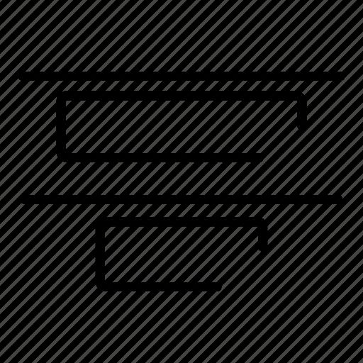 align, alignment, design icon