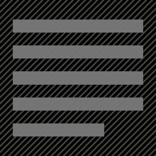 align, align justify, alignment icon