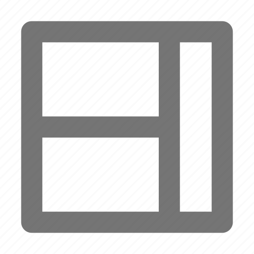 grid, interface, layout, paragraph, template, text, tool icon