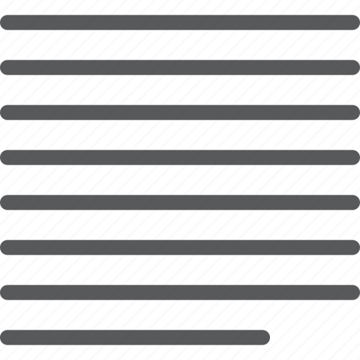 align, center, equal, justified, line, script, settings, text icon