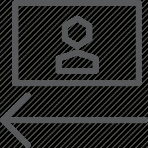 align, alignment, arrow, flip, horizontal, landscape, left, photo icon