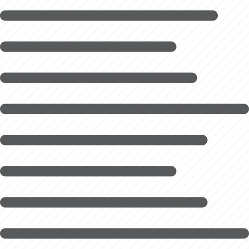 align, alignment, left, line, script, settings, side, text icon