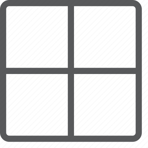 alignment, all, border, design, grid, interface, layout, model icon