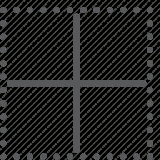 alignment, border, custom, inside, line, script, settings, text icon