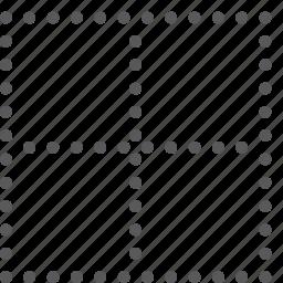alignment, border, custom, line, none, script, settings, text icon