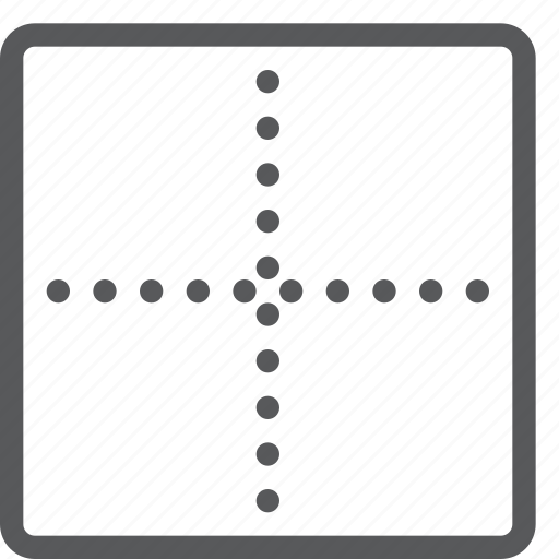 alignment, border, custom, line, outside, script, settings, text icon