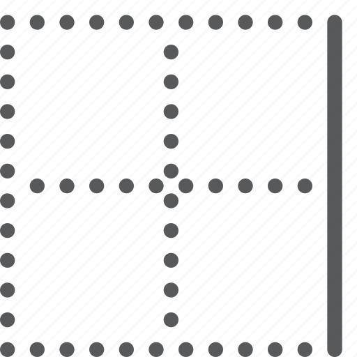 alignment, border, custom, line, right, script, settings, text icon