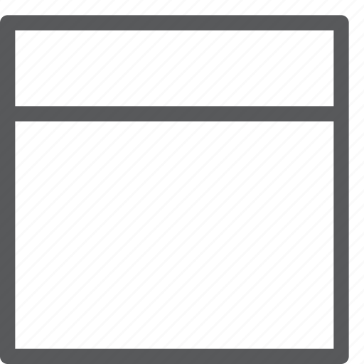 alignment, design, empty, grid, interface, layout, model, top icon