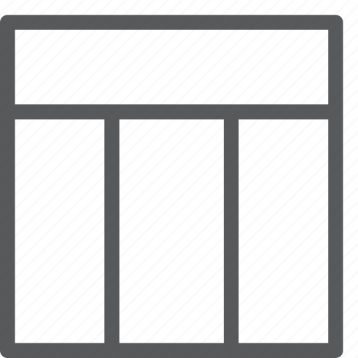 alignment, design, grid, interface, layout, model, three icon