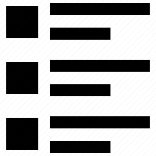Align, checklsit, format, menu, text icon - Download on Iconfinder