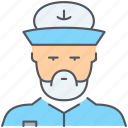 boat, captain, marine, nautical, ocean, sailor, ship icon