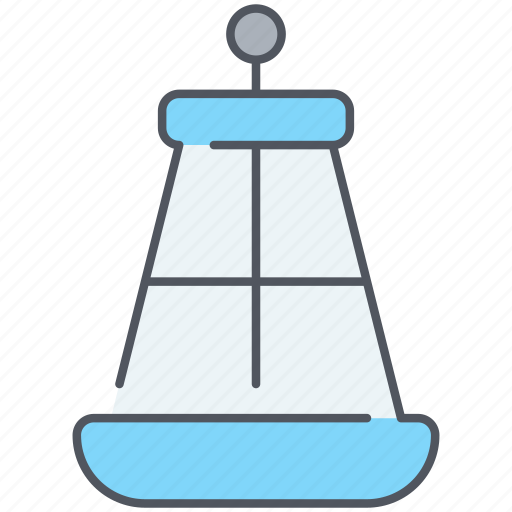cone, floating, navigation, ocean, open water, orientation, sea icon