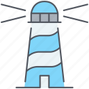 lighthouse, beacon, nautical, navigation, observation, orientation, watch tower