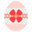 bow, christ, easter, egg icon
