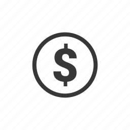 bank, business, coin, currency, dollar, finance, money icon