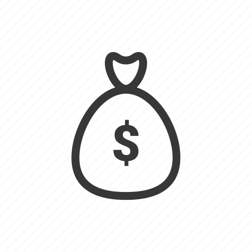 bag, bank, business, dollar, finance, money icon