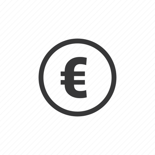 bank, business, coin, currency, euro, finance, money, transaction icon