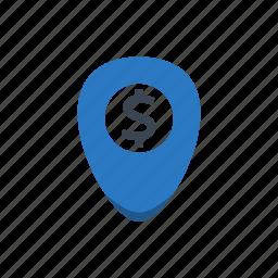geo, laptop, location, navigation, notebook, pin icon