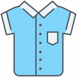 casual, clothes, fashion, shirt, short sleeves, wear icon