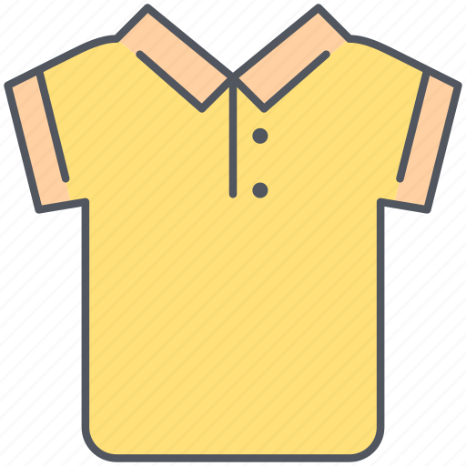 casual, clothes, fashion, polo, shirt, short sleeves, wear icon