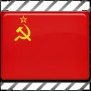 flag, ussr icon